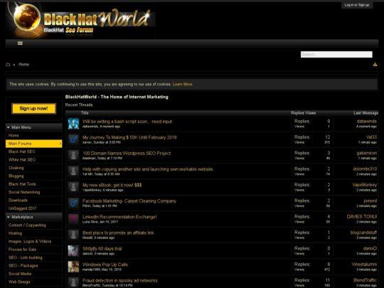 dating webmaster forum blackhat