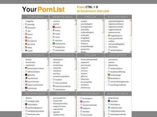 yourpornlist